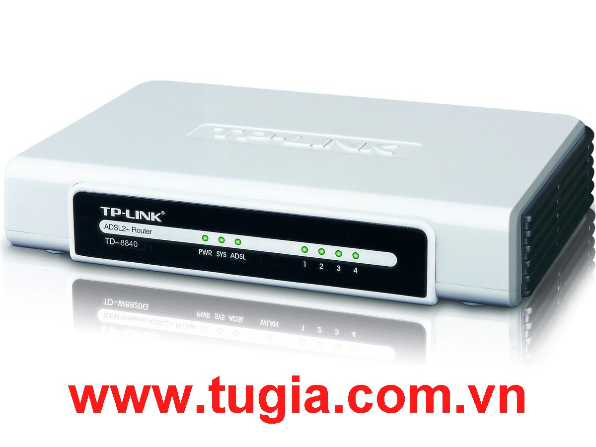 Fax Modem TP-link ADSL2+ / 1 Port Ethernet+ 1 port