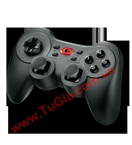 Logitech Cordless Rumblepad 2 - tay game rung Log