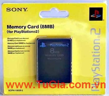 Memory Card 8MB/PS2