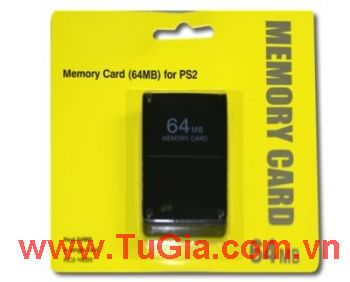 Memory Card 64MB/PS2