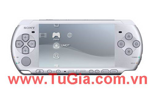 Sony PlayStation Portable (PSP) 3000 (Piano Silve