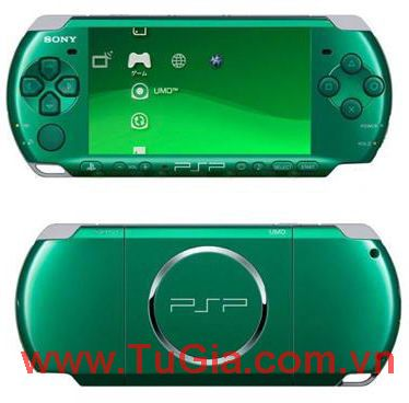Sony PlayStation Portable (PSP) 3006 (Piano Green) Fireware5.03