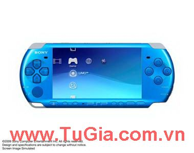 Sony PlayStation Portable (PSP) 3000 (Piano Blue)