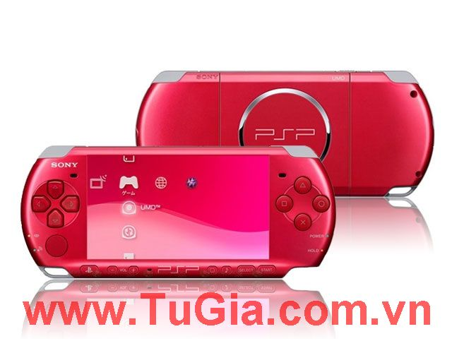 Sony PlayStation Portable (PSP) Radiant Red 3006