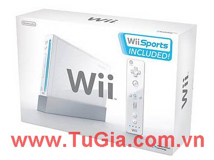 Máy chơi Game  Nintendo Wii English 4.1U