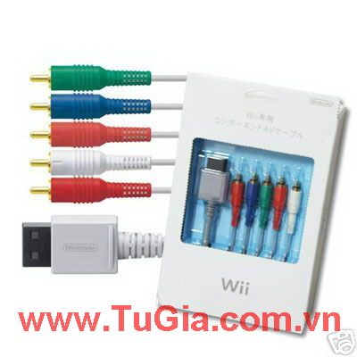 Dây Wii Official Component Cable