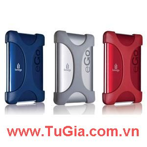 IOMEGA Protable e-Go 1Tb. (Red/ Blue/ Silver) USB