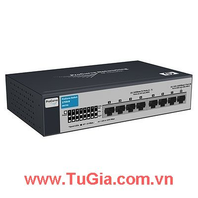 HP ProCurve 1700-8 Switch (J9079A)
