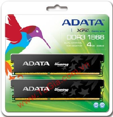 ADATA™ Retail box Gaming Series DDR3 4GB 1866G