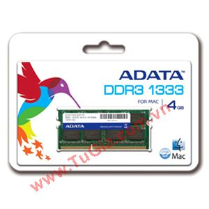 ADATA™ Retail box Premier Series DDR3 4GB 1333 for LAPTOP