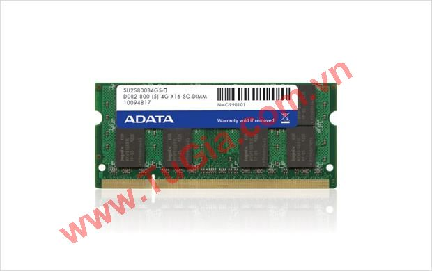 ADATA™ Retail box Supreme Series DDR2 1GB Bus 800  for Laptop