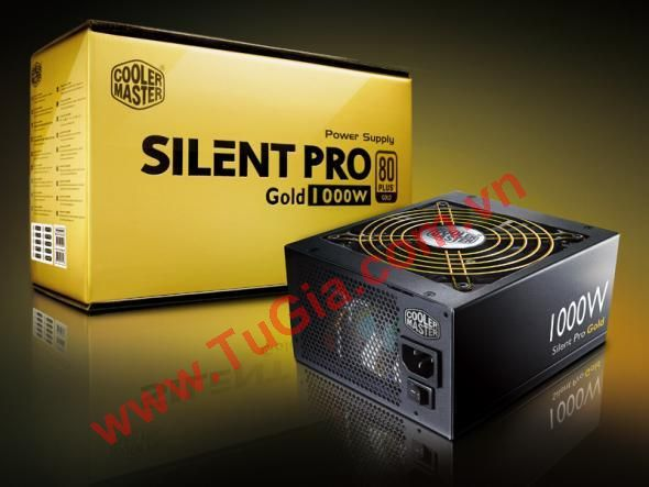 Nguồn Cooler Master SILENT PRO GOLD 1000W (RS-A0