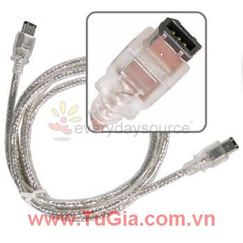 Cab iEEE1394 - Dây cáp 1394 ( Firewire Cable) 2