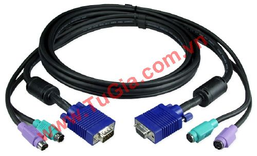 Cable KVM Switch dài 1.5m