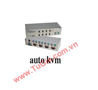 auto KVM Switch 4 Port