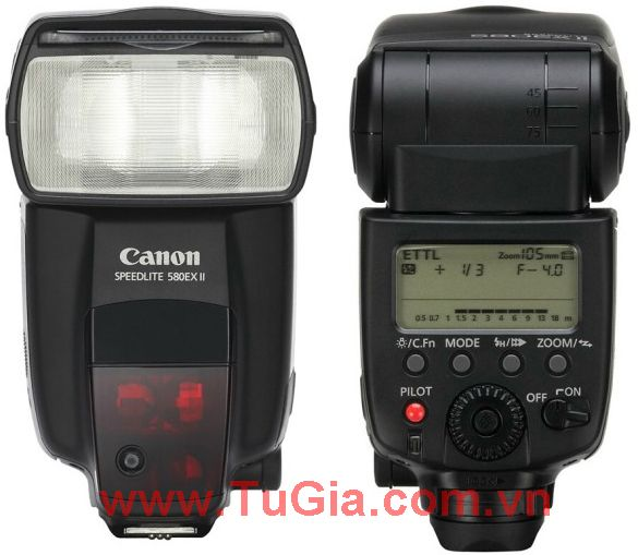 Đèn Flash: Canon Speedlite 580 EX II
