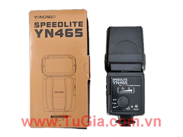 Đèn Flash : YONGNUO YN465 For Canon / Nikon