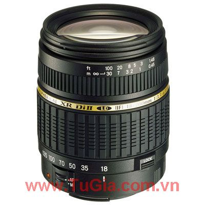 LENS TAMRON AF 18-200MM F3.5-6.3 XR DI II FOR NIKON&CANON