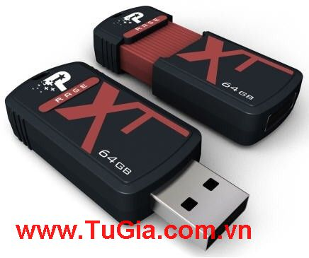 USB Flash 64GB PATRIOT X-Porter-Rage