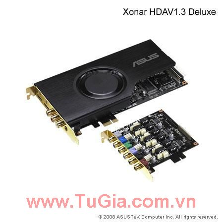 Asus Sound XONAR HDAV1.3 DELUXE INTERNAL SOUND CAR