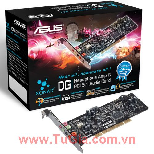 ASUS XONAR-DG INTERNAL SOUND CARD 5.1 PCI