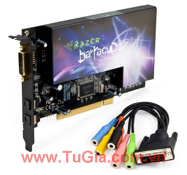 Razer Barracuda™ AC-1 Gaming Audio Card