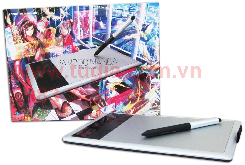 Wacom Bamboo Manga Pen & Touch CTH-470S / Wacom Bamboo Capture Pen & Touch Small [CTH-470L/M]