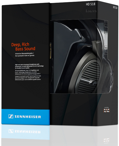 tai nghe SENNHEISER Headphone  HD518