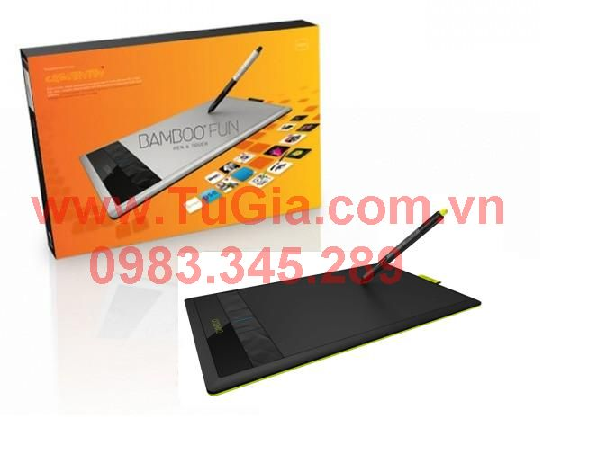 Wacom Bamboo Fun Medium Pen & Touch CTH-670K (Bamboo Create  CTH 670)