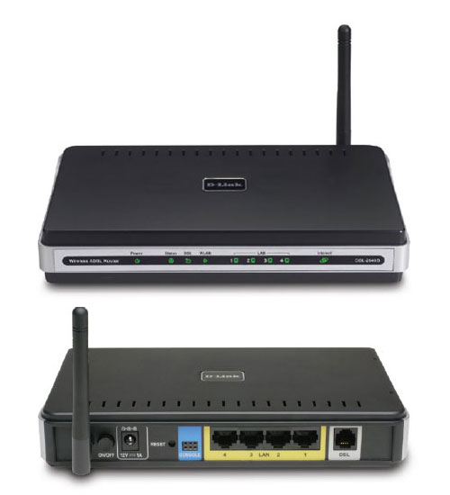 Modem-ADSL Router Wireless D-LINK DSL-2640B