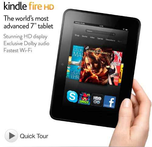 Máy tính bảng Amazon Kindle Fire HD 7 Inch 16GB