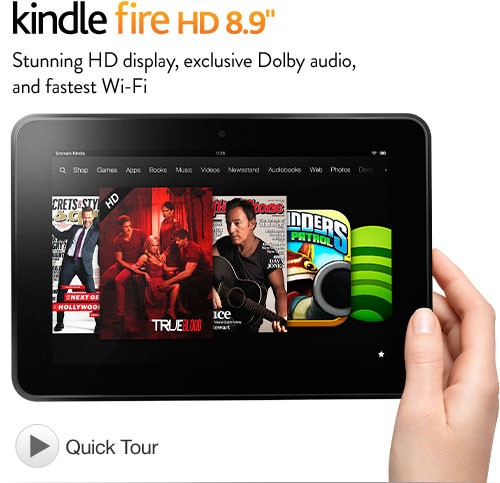 Máy tính bảng Amazon Kindle Fire HD 8.9 Inch 16GB
