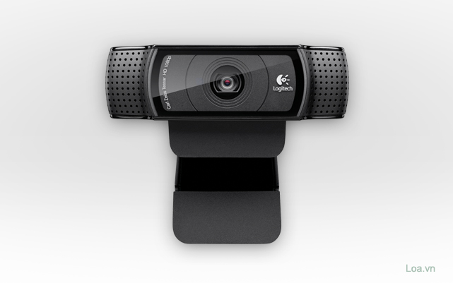 QuickCam/ Webcam Logitech HD Pro C920, webcam full