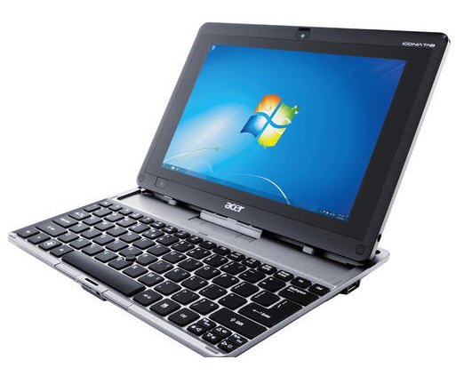 Acer ICONIA Tab W501 10.1 Inch 3G Tablets Notebook (with Keyboard Docking)