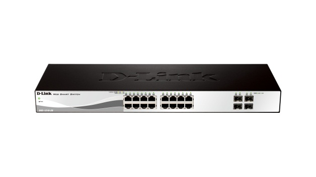 Dlink DGS-1210-20 20 Port Gigabit Smart Switch including 4 Gigabit SFP ports