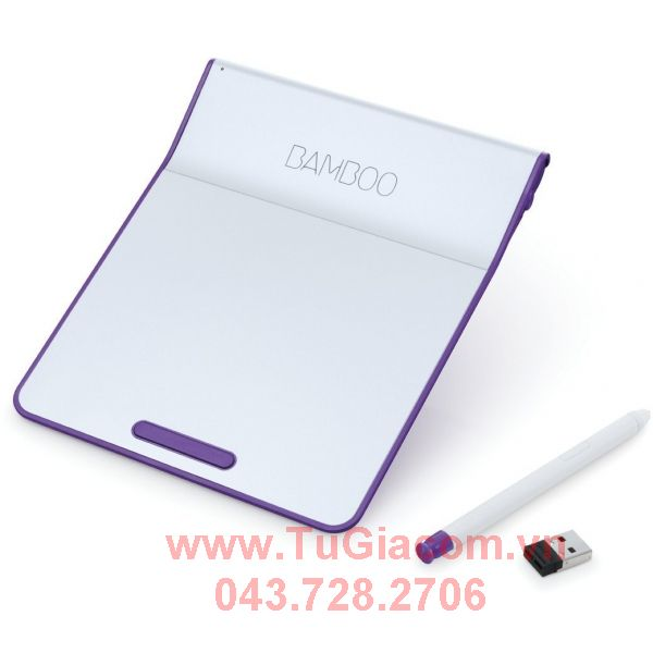 WACOM BambooPad Wireless  - Purple (màu Tím/bạc) CTH-300