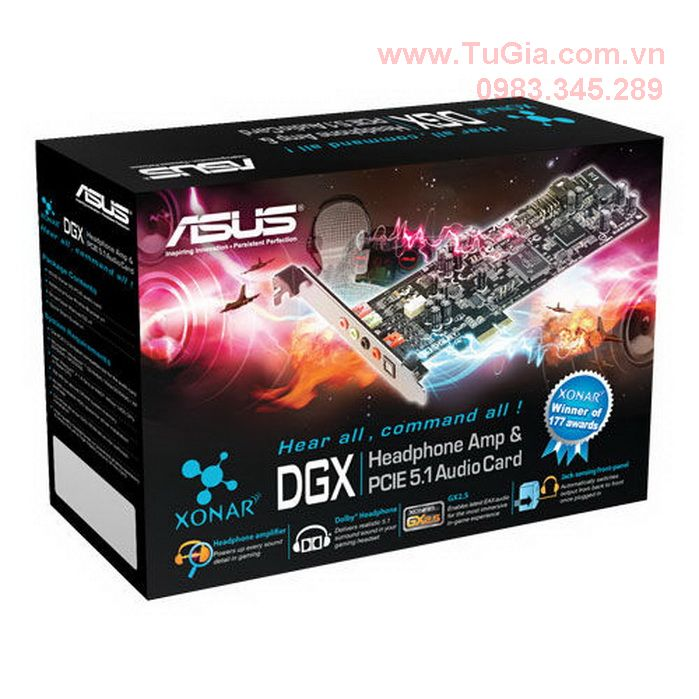 Card Sound Asus Xonar  DGX - 5.1