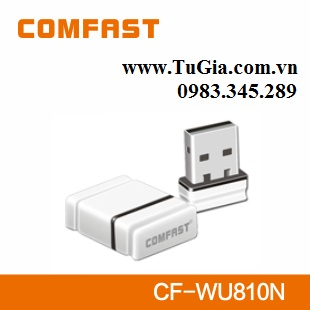 USB thu Wifi COMFAST CF-WU810N WiFi wireless adapter 150M