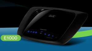 Linksys Wireless-N Router 4 Port LAN 10/100Mbps (E1000)