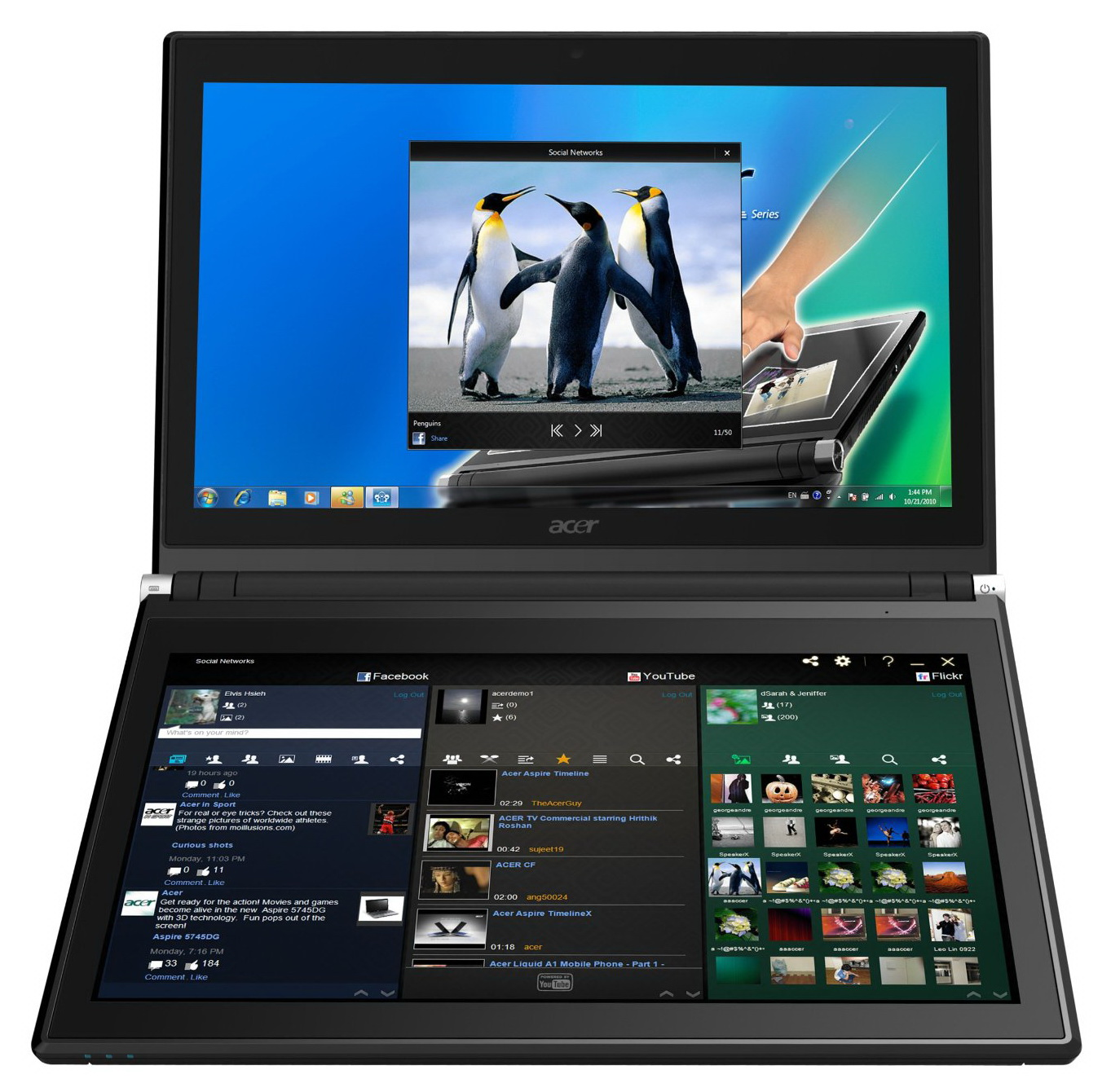 ACER Iconia Dual Touchscreen Core i5