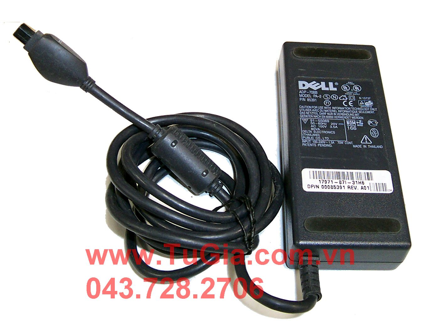 ADAPTER DELL 20V - 3.5A