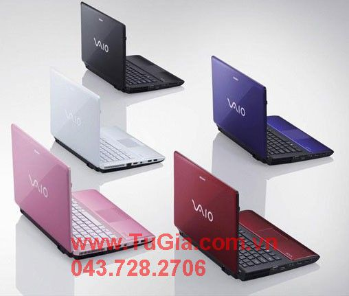 Notebook Sony VPCEA45FG. Black/Pink/Blue/White