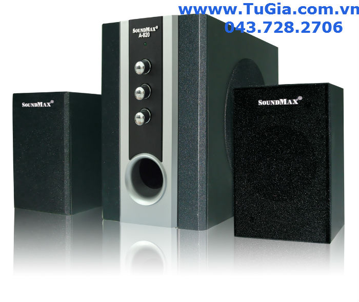Loa vi tính SOUNDMAX A820 (2.1) 25W (model A-820)