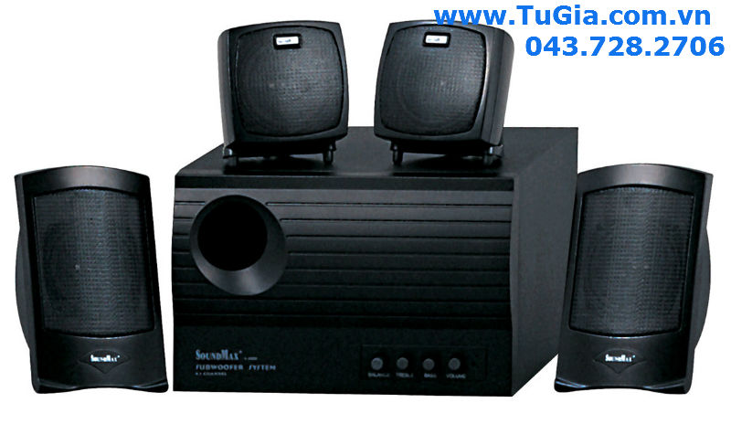 Loa vi tính SOUNDMAX A4000 (4.1) 60W (model A-400