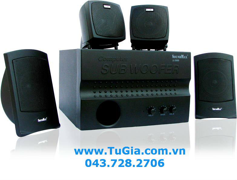 Loa vi tính SOUNDMAX A5000 (4.1) 60W (model A-5000)