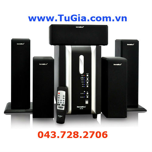 Loa SOUNDMAX B30 5.1 (105W) Mini Home Theatre Syst