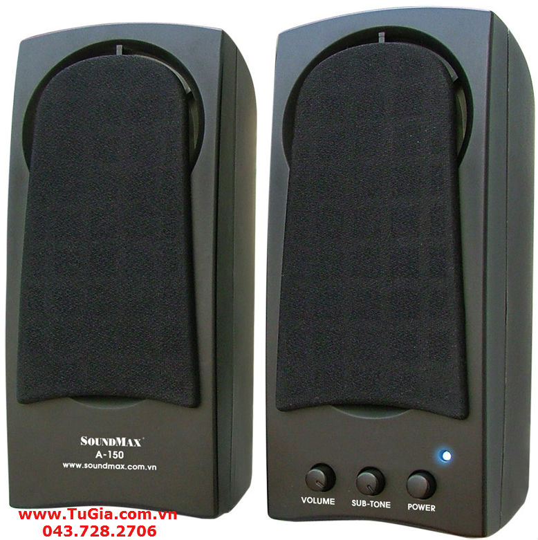 Loa vi tính SoundMax  A150 (2.0) 10W (model A-150)