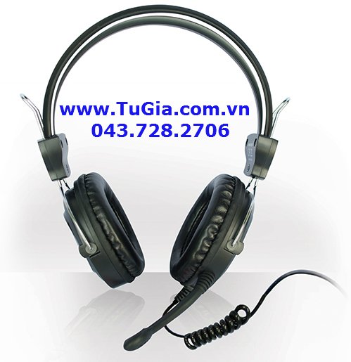Tai nghe SOUNDMAX AH307 (Black) headphone for PC & Laptop