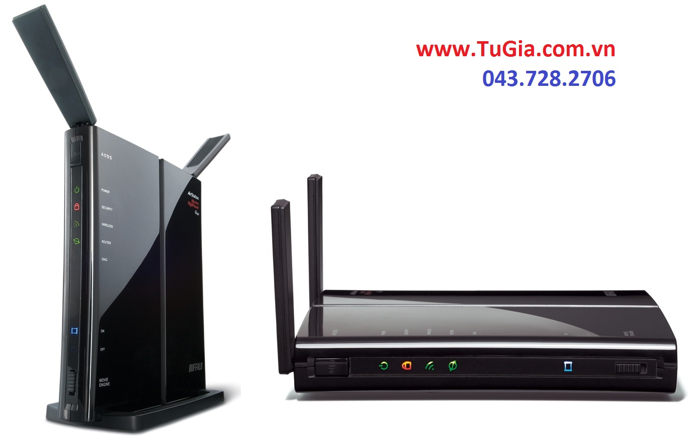 Router wifi BUFFALO WZR-HP-G300NH2 / WZR-HP-G300NH