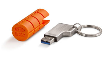LACIE 32GB USB RuggedKey - USB 3.0